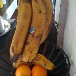 Bananas at breakfast