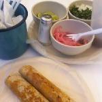 tacos de cochinita pibil, buenísimos !!!