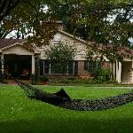 Take a nap in our hammock at Brookside