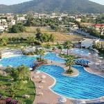 La piscine paysagère, superbe !