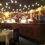 Inside main dining area