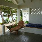 DAybed & Sunlounger on the Verandah