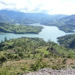Panoramica embalse del Guavio