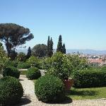 il panorama con giardino