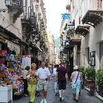 A wonderful street in Sorrento