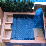Plunge Pool infront of Deluxe Pool Access