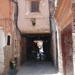 La petite rue du Riad