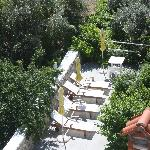 pleasant sun terrace
