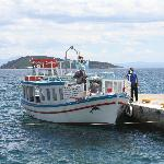 Skiathos town water taxi