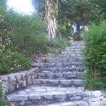 Einige der Treppen....