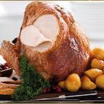 Tasty roast turkey