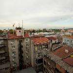 Blick auf Hinterhof/Bosporus