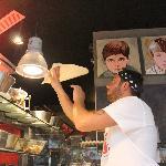 Il pizzaiolo di Fratelli La Bufala Piccadilly