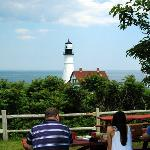 Picnic at Portland Head Light