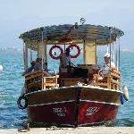 Taxi boat from Fethiye to Calis Beach