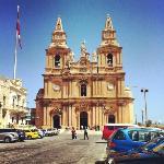 Church in Mellieha, Malta