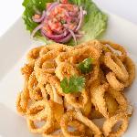 Fried Calamari w/ Fried Yuca