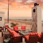 Third Floor Ocean View Deck with Firepit