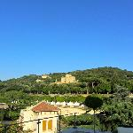 A view from the roof terrace. The Aldobrandini palace in the background.