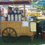 Enchanted Grounds Espresso Cart