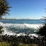 Beautiful Burleigh National Park a few steps away - no concrete jungle here!!!