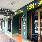 Favourite fish and chips shop on the vibrant James Street strip a short stroll away