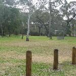 A great picnic area by the car park.  Free gas barbecues are available to use.