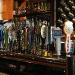 Beers/Cider on tap