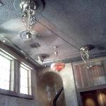 Tavern-old pulley ceiling fans