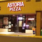 Front of Astoria Pizza