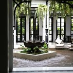 gorgeous courtyard next to the reception fully completed and really nice