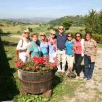 Emanuele Torelli with the Italy Retreat participants