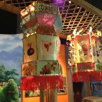 Guangxi Provincial Museum display of festivals