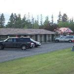 We are a motor motel on Hwy 97 .