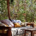 Seating in the tropical forest Diani Kenya, enjoy the peace and nature!