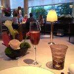Dinner at Pavillon