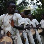 Drumming troupe performance