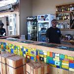 Enjoy a drink at our bar
