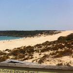 Vista de la duna