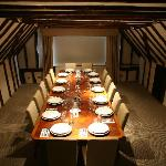 The Oyster Room, private dining for 14 guests