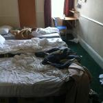 Dirty Room on arrival!