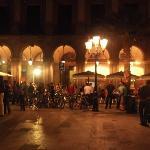 Hotel en la plaza