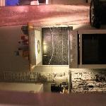 interno spazio cucina-ingresso