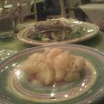 Crostino casareccio+patate