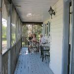 Beautiful screened in porch