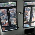 Large panoramic windows