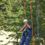 Ziplining at Tamarack, we had so much fun.  You are going to love it.  The views are spectacular
