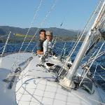 Disfrutando una buena navegación