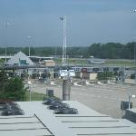 Daytime view of Turnpike from our room