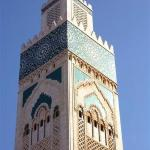 Hassan II tower detail
